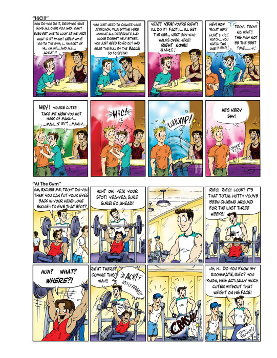 Troy gay comic